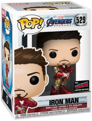 Figurine Funko Pop Avengers : Endgame [Marvel] #529 Iron Man