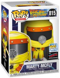 Figurine Funko Pop Retour vers le Futur #815 Marty McFly en tenue de décontamination