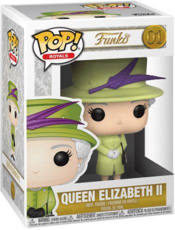 la reine Elizabeth II en vert tenue #01 NEW IN BOX Royals Funko POP