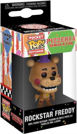 Figurine Funko Pop Five Nights at Freddy's #00 Freddy l'Ours - Porte-clés
