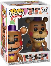 Figurine Funko Pop Five Nights at Freddy's #362 Freddy l'Ours Rockstar