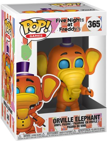 Figurine Funko Pop Five Nights at Freddy's #365 Orville l'Éléphant