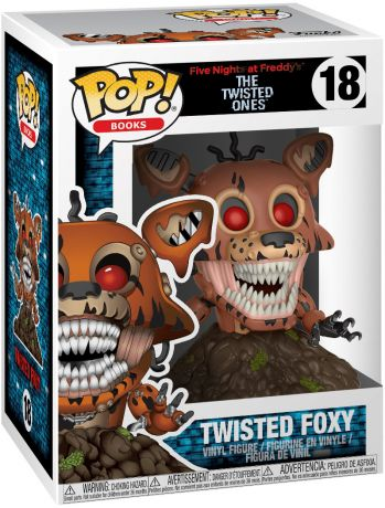 Figurine Funko Pop Five Nights at Freddy's #18 Foxy Abîmé