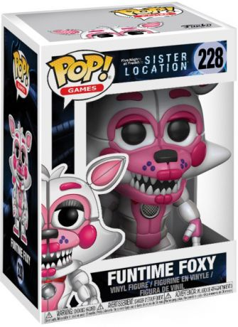 Figurine Funko Pop Five Nights at Freddy's #228 Foxy