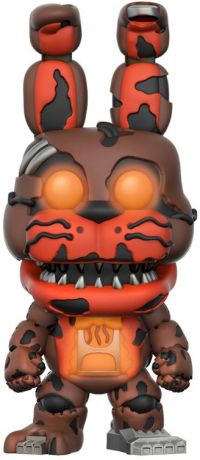 Figurine Funko Pop Five Nights at Freddy's #231 Bonnie Le Lapin - Brillant dans le noir