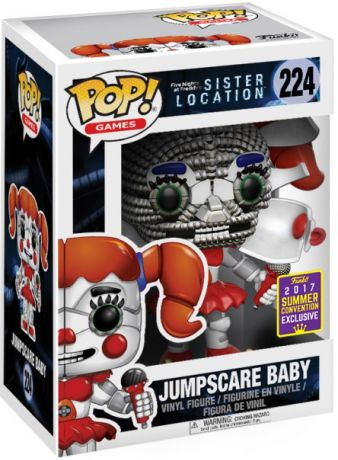 Figurine Funko Pop Five Nights at Freddy's #224 Baby Jumpscare
