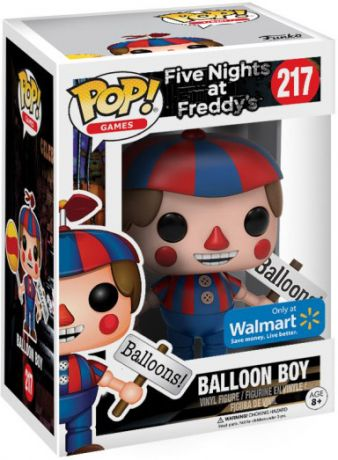 Figurine Funko Pop Five Nights at Freddy's #217 Garçon avec Ballon
