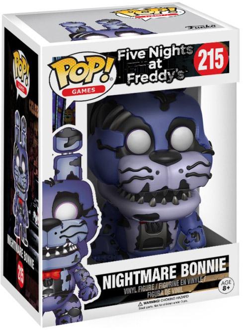 Games ~ CAUCHEMAR FREDDY Vinyl Figure ~ Cinq Nights at Freddy/'s FNAF Funko Pop
