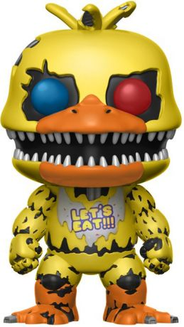Figurine Funko Pop Five Nights at Freddy's #216 Chica le Poulet Cauchemar
