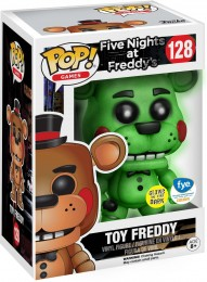 Figurine Funko Pop Five Nights at Freddy's #128 Jouet Freddy - Brillant dans le noir