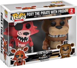 Figurine Funko Pop Five Nights at Freddy's #0 Freddy & Foxy - 2 pack