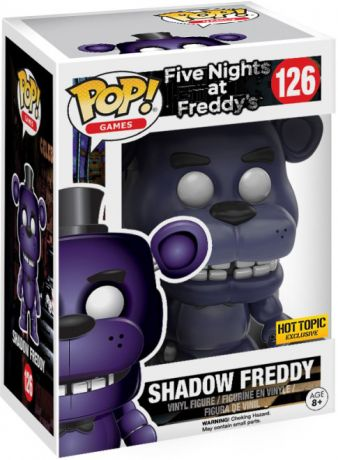 Figurine Funko Pop Five Nights at Freddy's #126 Freddy l'Ours Ombre