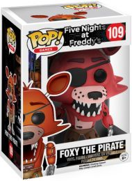 Figurine Funko Pop Five Nights at Freddy's #109 Foxy Pirate