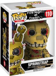 Figurine Funko Pop Five Nights at Freddy's #110 Springtrap