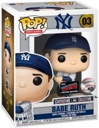 Figurine Funko Pop MLB : Ligue Majeure de Baseball #3 Babe Ruth