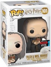 Figurine Funko Pop Harry Potter #101 Argus Rusard & Mrs Teigne
