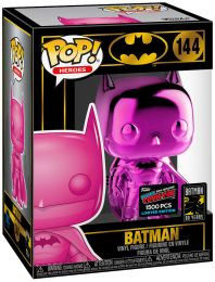 Figurine Funko Pop Batman [DC] #144 Batman - Rose Chromé
