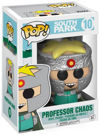 Figurine Funko Pop South Park #10 Professeur Chaos