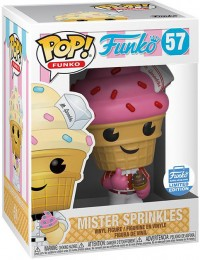 Figurine Funko Pop Fantastik Plastik #57 Mr Sprinkles Fraise