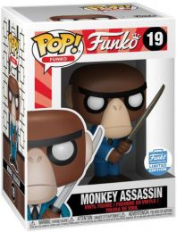 Figurine Funko Pop Fantastik Plastik #19 Singe Assassin