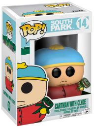 Figurine Funko Pop South Park #14 Cartman avec Clyde