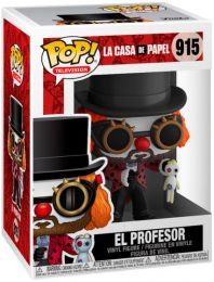 Figurine Funko Pop La Casa de Papel #915 Le Professeur en clown