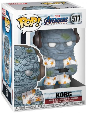 Figurine Funko Pop Avengers : Endgame [Marvel] #577 Korg gamer