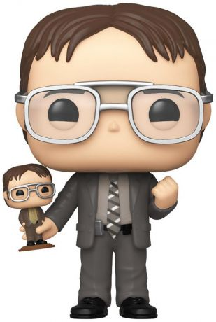 Figurine Funko Pop The Office #882 Dwight Schrute avec Bobblehead