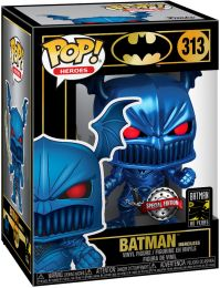 Figurine Funko Pop Batman [DC] #313 Batman the Merciless - Bleu Métallique