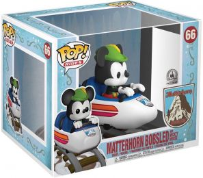 Figurine Funko Pop Parcs Disney  #66 Mickey Mouse dans Matterhorn Ride