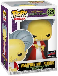 Figurine Funko Pop Les Simpson #825 Mr. Burns le Vampire