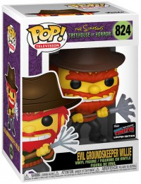 Figurine Funko Pop Les Simpson #824 Willie le Gardien de terrain maléfique