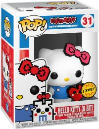Figurine Funko Pop Sanrio #31 Hello Kitty - 8 Bit [Chase]