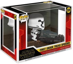 Figurine Funko Pop Star Wars 9 : l'Ascension de Skywalker #320 First Order Tread Speeder