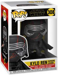 Figurine Funko Pop Star Wars 9 : L'Ascension de Skywalker #308 Kylo Ren Supreme Leader
