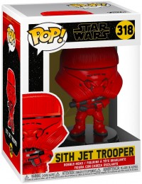 Figurine Funko Pop Star Wars 9 : L'Ascension de Skywalker #318 Sith Jet Trooper