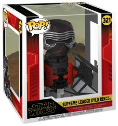 Figurine Funko Pop Star Wars 9 : L'Ascension de Skywalker #321 Supreme Leader Kylo Ren sur TIE Whisper