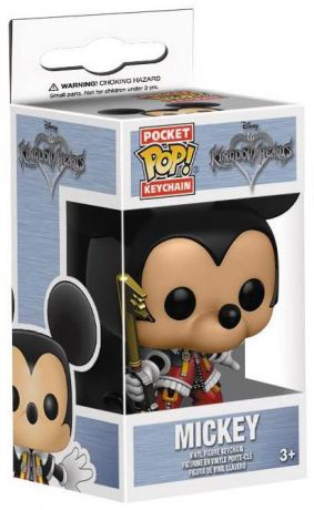 Figurine Funko Pop Kingdom Hearts #00 Mickey - Porte-clés