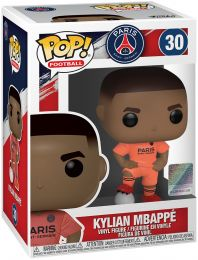 Figurine Funko Pop Premier League #30 Kylian Mbappe en tenue Orange - PSG