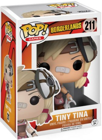 Figurine Funko Pop Borderlands #211 Tiny Tina