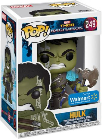 Figurine Funko Pop Thor [Marvel] #249 Hulk Gladiateur