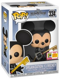 Figurine Funko Pop Kingdom Hearts #334 Mickey décapuché - Organization 13
