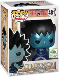 Figurine Funko Pop Fairy Tail #481 Gajeel Dragon's Scales - Métallique
