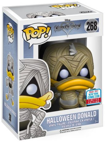 Figurine Funko Pop Kingdom Hearts #268 Donald - Halloween