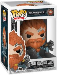 Figurine Funko Pop Warhammer 40000 #502 Space Wolves Pack Leader
