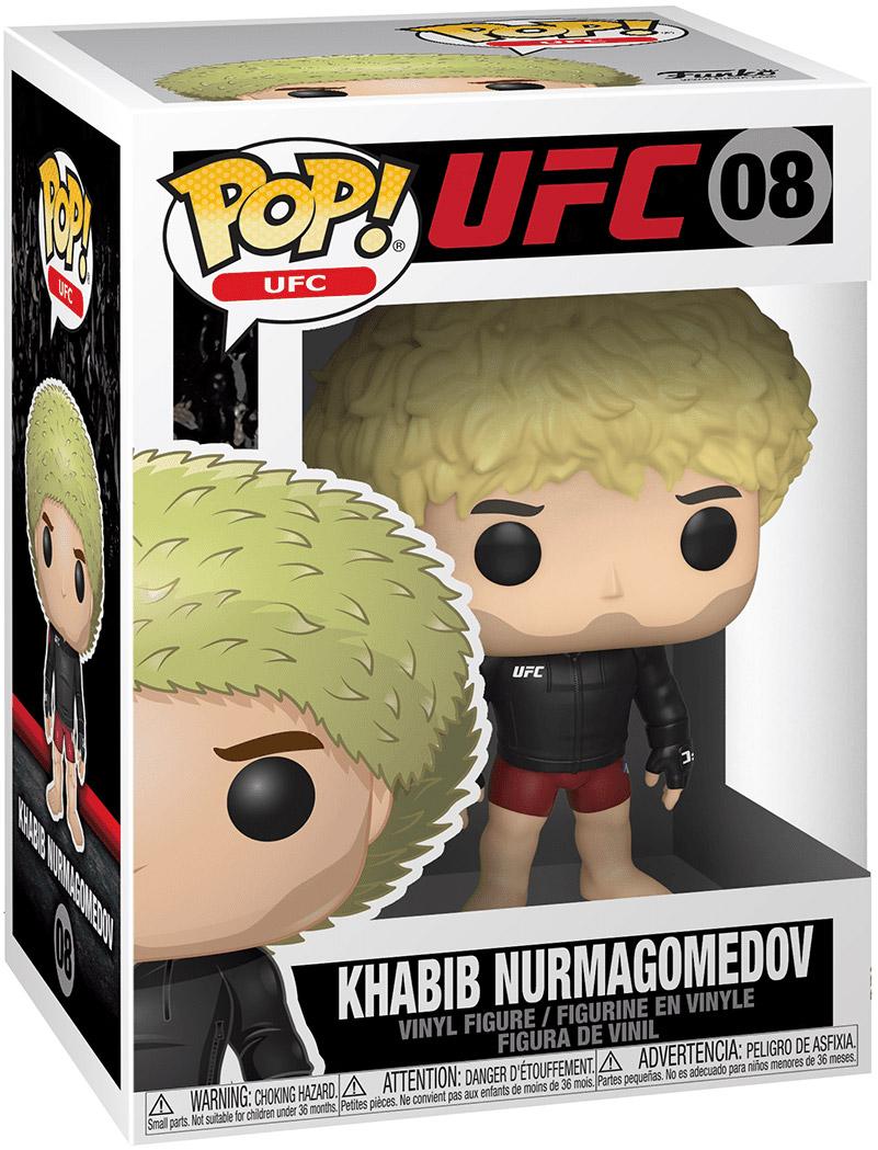 KHABIB NURMAGOMEDOV 08 37801 VINYL FUNKO POP ULTIMATE FIGHTING CHAMPIONSHIP