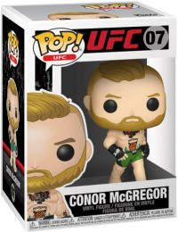Figurine Funko Pop UFC: Ultimate Fighting Championship #7 Conor McGregor avec Short Vert