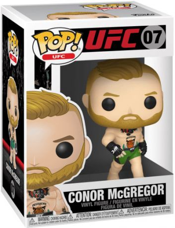Figurine Funko Pop UFC: Ultimate Fighting Championship #07 Conor McGregor avec Short Vert