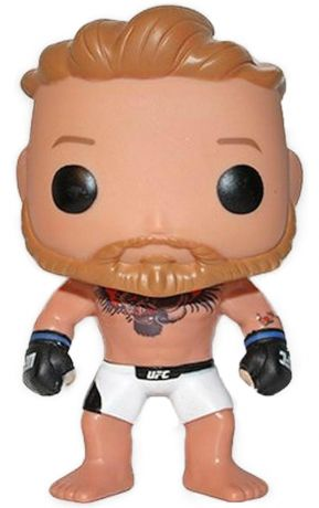 Figurine Funko Pop UFC: Ultimate Fighting Championship #01 Conor McGregor en Short Blanc