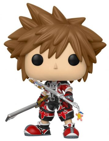 Figurine Funko Pop Kingdom Hearts #329 Sora - Forme Vaillante